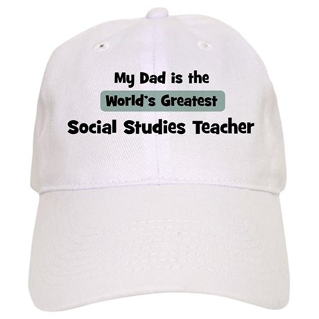Worlds Greatest Social Studie Cap