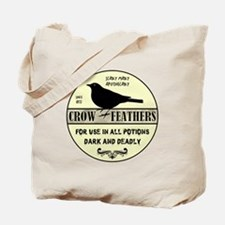 CROW FEATHERS Tote Bag
