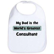 Worlds Greatest Consultant Bib