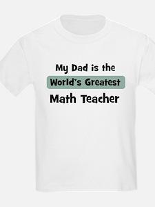 Worlds Greatest Math Teacher T-Shirt