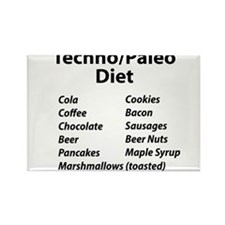 Techno/Paleo Diet Magnets