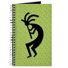 Green Kokopelli Gift Journal