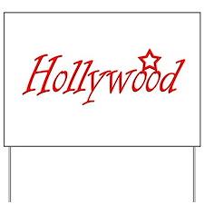 hollywood script.png Yard Sign