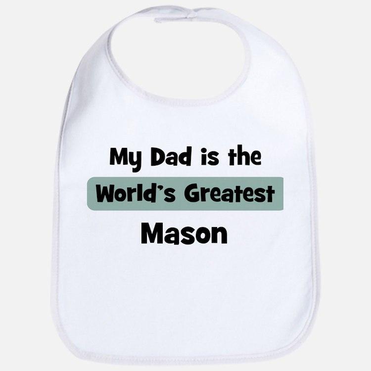 Worlds Greatest Mason Bib