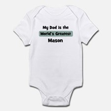 Worlds Greatest Mason Infant Bodysuit