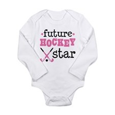 Future Field Hockey St Long Sleeve Infant Bodysuit