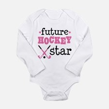 Future Field Hockey St Long Sleeve Infant Bodysuit