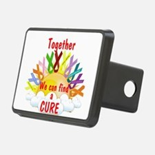 Together we can find a cure Hitch Cover