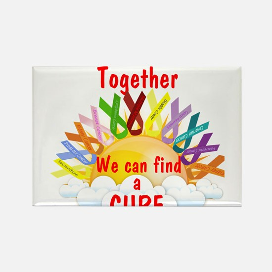 Together we can find a cure Magnets