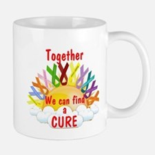 Together we can find a cure Mugs