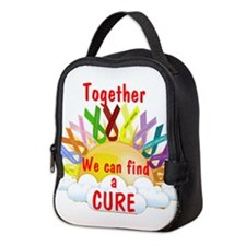 Together we can find a cure Neoprene Lunch Bag