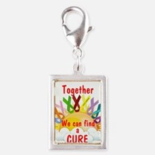 Together we can find a cure Charms