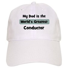 Worlds Greatest Conductor Baseball Cap