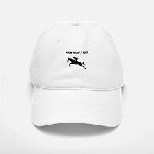 Custom Equestrian Horse Silhouette Baseball Baseball Baseball Cap