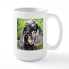 English Setter pup by Dawn Secord Mugs