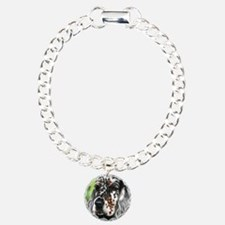 English Setter pup by Dawn Secord Bracelet