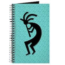 Aqua Kokopelli Gift Journal