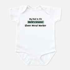 Worlds Greatest Sheet Metal W Infant Bodysuit