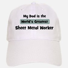 Worlds Greatest Sheet Metal W Baseball Baseball Cap