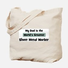 Worlds Greatest Sheet Metal W Tote Bag
