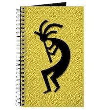 Gold Kokopelli Gift Journal