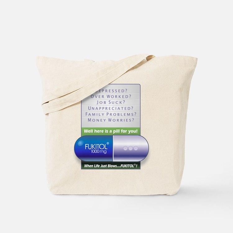 Fukitol Poster Tote Bag