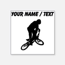 Custom BMX Biker Silhouette Sticker