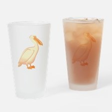 pelican Drinking Glass