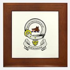 MACKINNON Coat of Arms Framed Tile