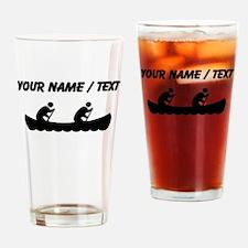 Custom Canoeing Drinking Glass
