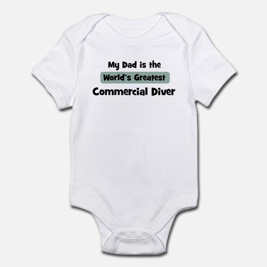 Worlds Greatest Commercial Di Infant Bodysuit