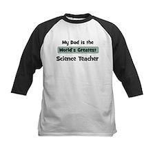 Worlds Greatest Science Teach Tee