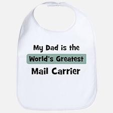 Worlds Greatest Mail Carrier Bib