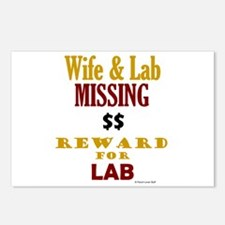 Wife & Lab Missing Postcards (Package of 8)