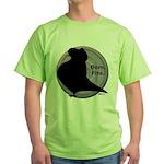 Flight Silhouette Green T-Shirt