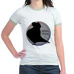 Flight Silhouette Jr. Ringer T-Shirt