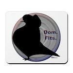 Flight Silhouette Mousepad