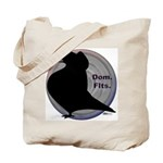 Flight Silhouette Tote Bag