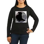 Flight Silhouette Women's Long Sleeve Dark T-Shirt