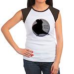 Flight Silhouette Women's Cap Sleeve T-Shirt
