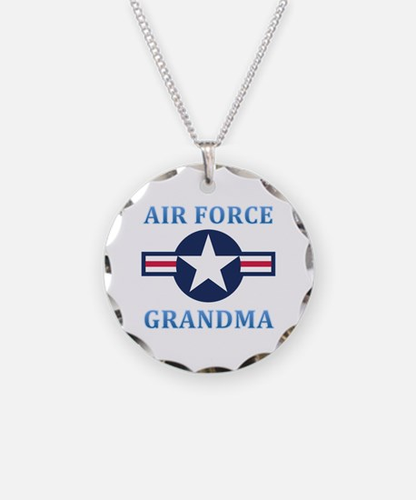 Air Force Grandma Necklace