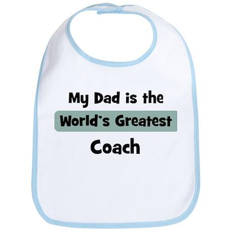 Worlds Greatest Coach Bib