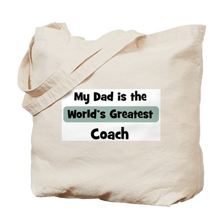 Worlds Greatest Coach Tote Bag