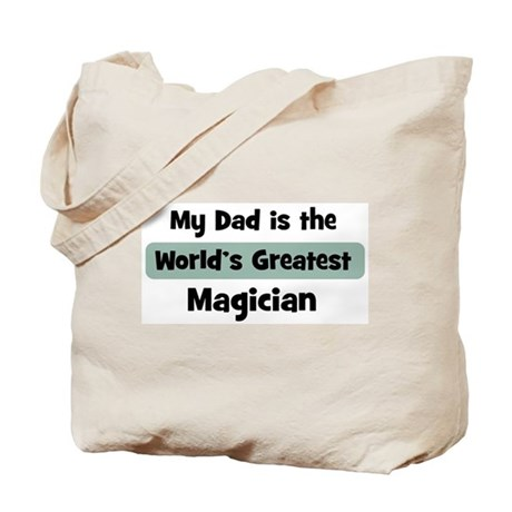 Worlds Greatest Magician Tote Bag