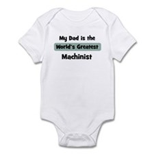 Worlds Greatest Machinist Infant Bodysuit