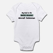 Worlds Greatest Aircraft Tech Infant Bodysuit