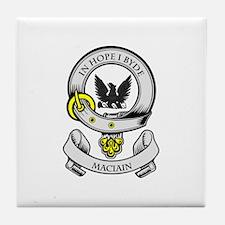 MACIAIN Coat of Arms Tile Coaster