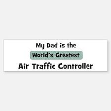 Worlds Greatest Air Traffic C Bumper Bumper Bumper Sticker