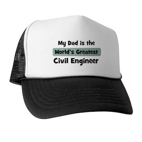 Worlds Greatest Civil Enginee Trucker Hat