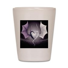 dragon love Shot Glass
